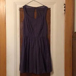 Final reduc! Laura Conrad plum purple summer dress